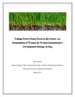 Putting Down (Grass) Roots in the Desert: An Examination of Women for Women International's Development Strategy in Iraq