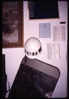 Argentine MP helmet on display in Port Stanley museum