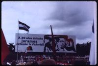 Billboard celebrating 20th anniversary of Sandinistas