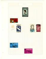 Mexico stamp pages, 1967-1990