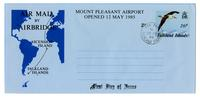 Airmail by Air bridge to the Falkland Islands