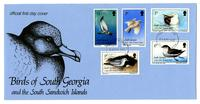 Birds of South Georgia and the South Sandwich Islands