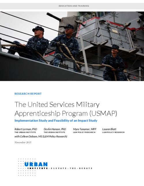 The United Services Military Apprenticeship Program (USMAP ...