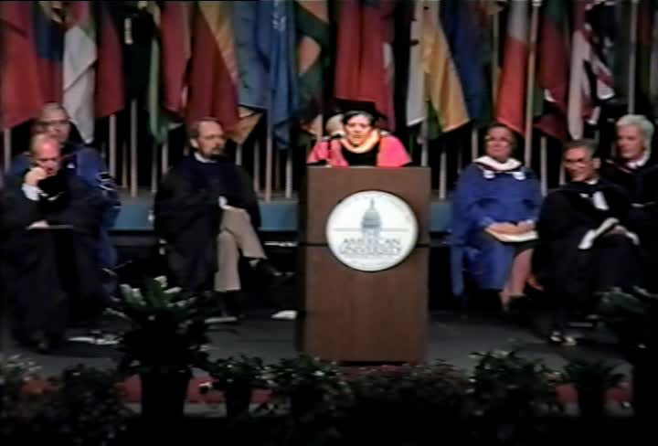 Alice Rivlin Commencement Address, 97th Commencement, Kogod School of Business and School of Public Affairs, Spring 1993
