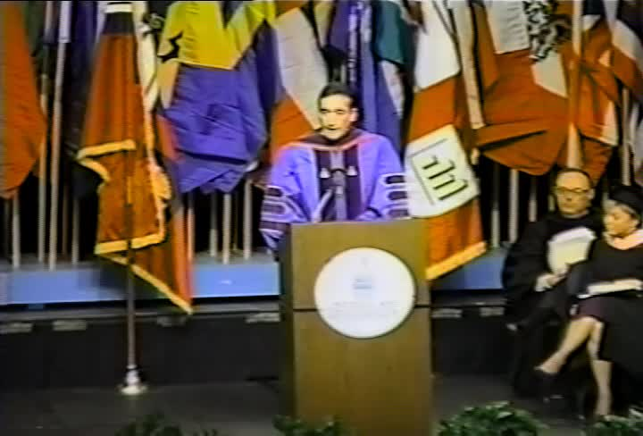 Henry G. Cisneros Commencement Address, 98th Commencement, American University, Winter 1994