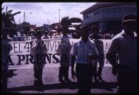 La Prensa 4th anniversary demonstration