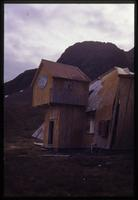 Abandoned whaler's movie theater at Grytviken