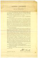 Announcement by John F. Hurst for the solicitation of contributions, 1890 May 01