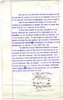 Committee report on endowment lifting the endowment restriction on American University, undated