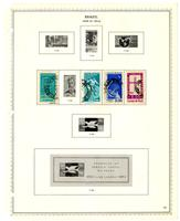 Brazil stamp issues album, 1843-1966