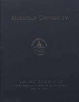 118th Commencement Program, Washington College of Law, Spring 2004