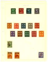 Nicaragua stamp pages, 1862-1955 [part 1 of 2]