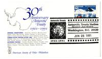 30th Anniversary of the 1961 Antarctic Treaty