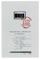 Centenary of the birth of Salvador Novo