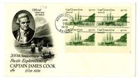 200th Anniversary of Captain James Cook's Pacific Explorations