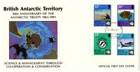 30th Anniversary of the Antarctic Treaty, 1961-1991
