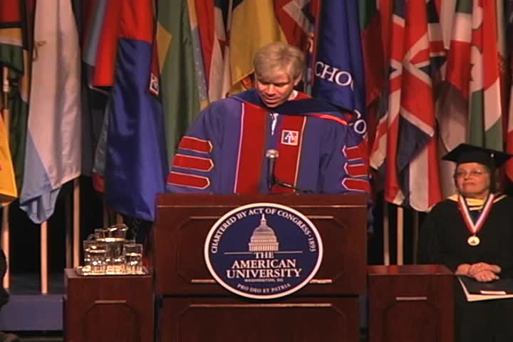 David Gregory Commencement Address, 121st Commencement, School of International Service and School of Communication, Spring 2007