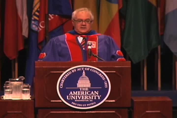 Barney Frank Commencement Address, 123rd Commencement, School of Public Affairs, Spring 2009