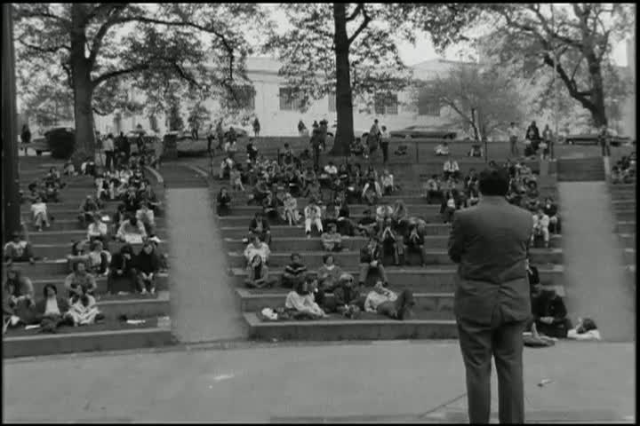 American University Student Response to Kent State shootings (part two), May 1970