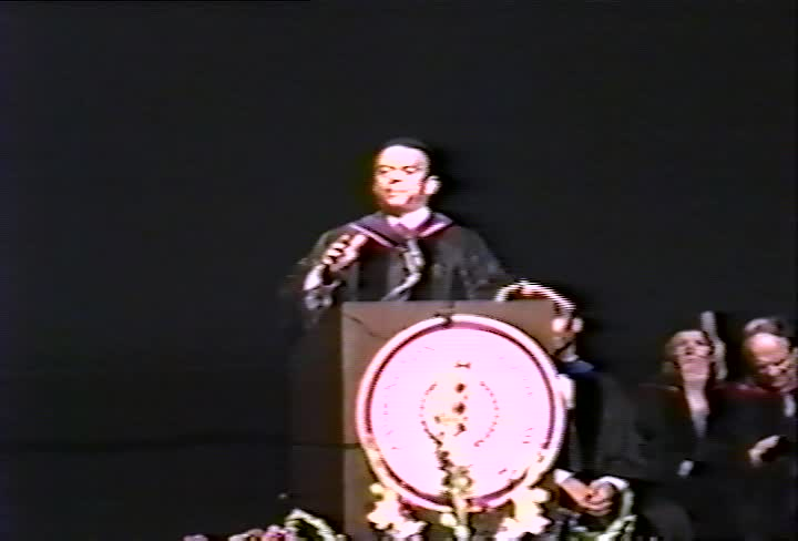 Andrew Young, Jr. Commencement Address, 95th Commencement, Washington College of Law, Spring 1992
