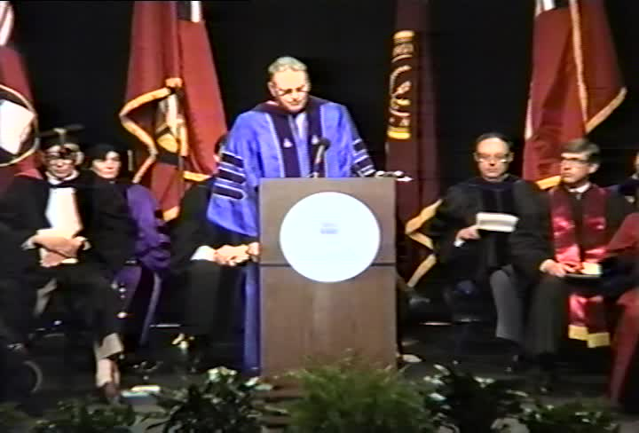 Lee H. Hamilton Commencement Address, 92nd Commencement, American University, Winter 1991