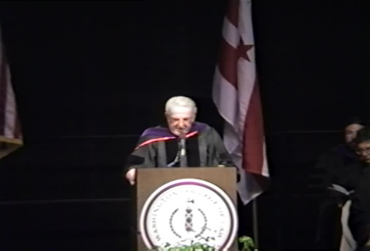 Abner J. Mikva Commencement Address, 93rd Commencement, Washington College of Law, Spring 1991