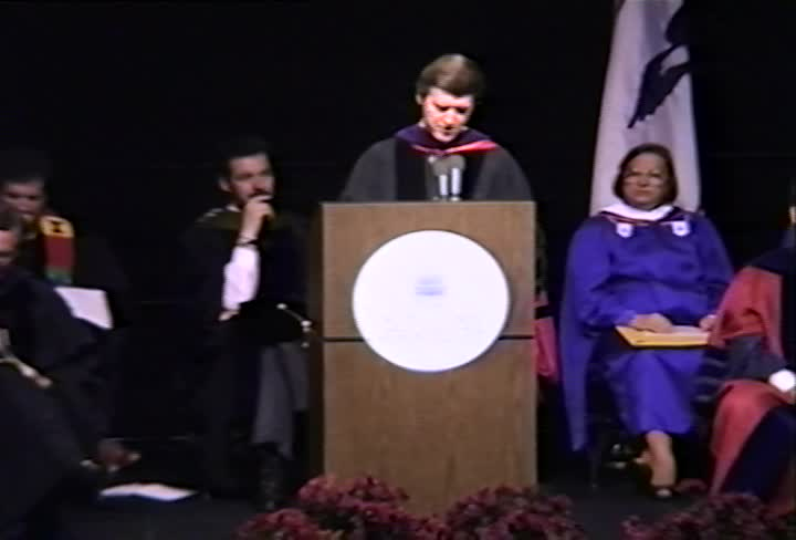 William S. Cohen Commencement Address, 93rd Commencement, School of Public Affairs and School of International Service, Spring 1991