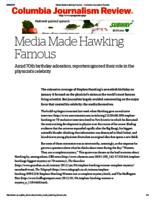 Media Made Hawking Famous