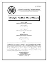 Estimating the Price Effects of Non-tariff Measures