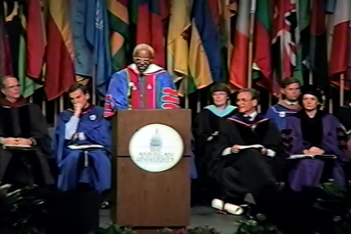 John Hope Franklin Commencement Address, 97th Commencement, College of Arts and Sciences, Spring 1993
