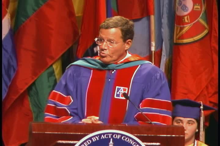 Lawrence Small Commencement Address, 115th Commencement, School of Public Affairs and Kogod School of Business, Spring 2002