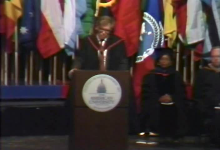Daw Aung San Suu Kyi Commencement Address, 104th Commencement, American University, Winter 1997