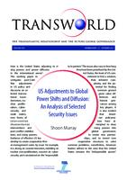 US adjustments to global power shifts and diffusion