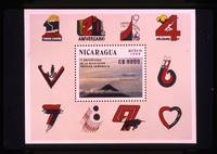 10th anniversary Sandinista postage stamp
