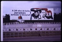 Sandinista National Liberation Front billboard