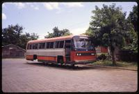 Abandoned bus in Managua