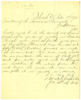 Agreement to do grading work 3 December 1895