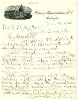 Letter from Congressman J.N. Kehoe to J.M. Mattex, 1905 January 12