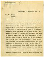 Letter from Superintendent J.B. Hammond to Rev. W.L. Davidson, 1900 December 03