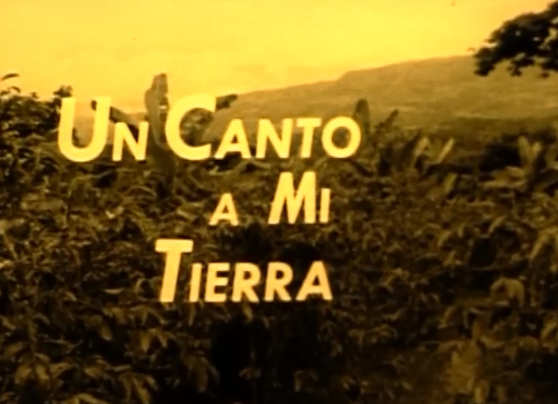 Film for Action: Un canto a mi tierra
