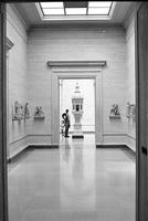 Exhibition room in the National Gallery of Art, Washington, D.C.