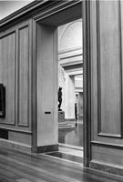 Exhibition rooms in the National Gallery of Art, Washington, D.C.