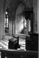 Wooden lecterns in the Washington National Cathedral (1977)