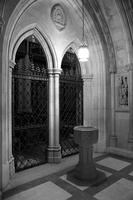 Baptismal font in the Washington National Cathedral (1977)